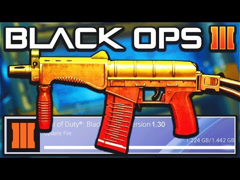 The NEW DLC Weapons in the Black Ops 3 Update 1.30! (BO3 Update)