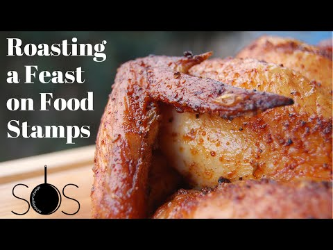 SOS: Surviving on Stamps Episode 2 - Cookes Roast a Feast of Food