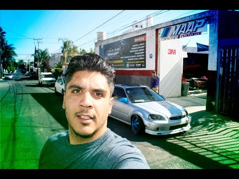Ahora si Terminamos wide body civic / Marco MAAP Carshop