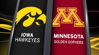Big Ten Basketball Highlights - Iowa at Minnesota
