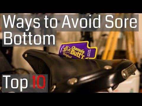 Top Ten Ways to Prevent a Sore Bottom when Cycling