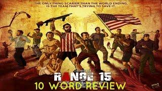 Range 15 - Ten Word Movie Review