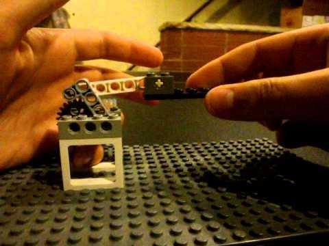how to make a lego blowback gun