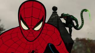 Download Scorpion Poisons Spider Man All Costumes Cutscene | Marvel's Spider Man PS4 2018 Video