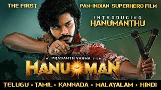 Hanumanthu First Look from Hanu-Man   A Film by Prasanth Varma   Teja Sajja  Primeshow Entertainment