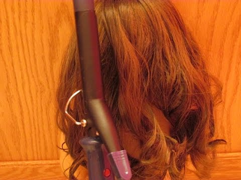 How to Curl Your American Girl Doll's Hair Using a Curling Iron