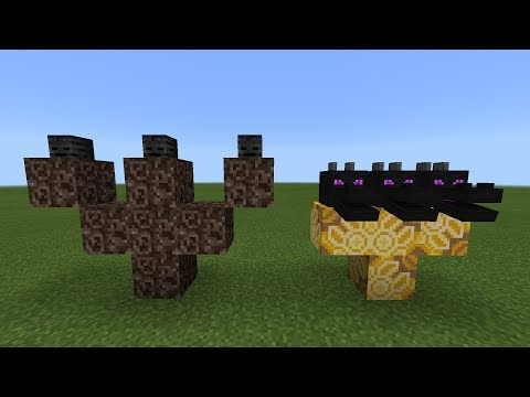 What Happens When You Spawn the Wither Storm and Hydra Dragon Boss in Minecraft Pocket Edition