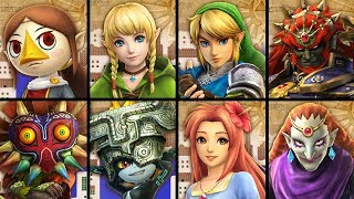 Hyrule Warriors (Switch) - All Characters