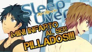 Nos pillan al tratar de Espiarlo!! - SleepOver #01
