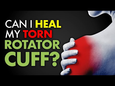 Can I heal my torn ROTATOR CUFF?