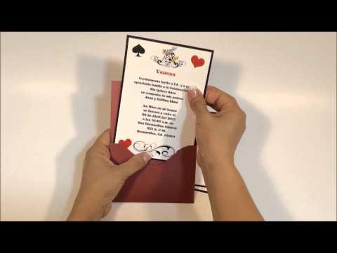 Quinceanera Invitation #NLK 1
