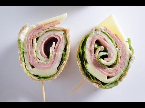 Ham & cheese Pinwheel sandwich