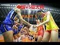 中國女排VS意大利 第五场 决胜局··2019世界女排聯賽香港站part 5 China VS Italy ~the women's Volleyball Nations League 2019