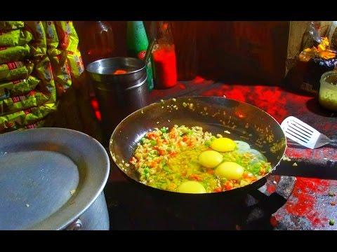 Indian Street Food   Egg Maggi in Kadma JAMSHEDPUR