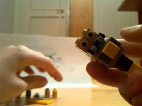 LEGO double barrel shotgun