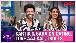 Kartik Aaryan and Sara Ali Khan on Love Aaj Kal, dating rumours, trolls, reactions | Full Interview