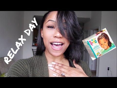 Relaxer Day Hair Vlog