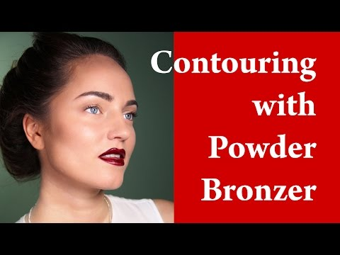 SQUARE FACE MAKEUP - How to contour square face - Contouring and Highlighting