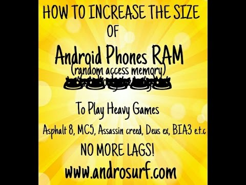 How To Increase RAM size on Android Phones: Play heavy games without lag!
