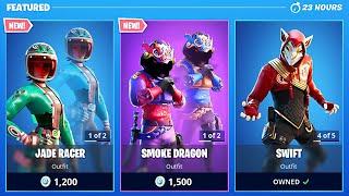New Smoke Dragon & Jade Racer Skins! (Fortnite Item Shop Update)