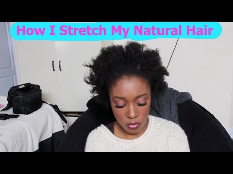 How To: Stretch Natural Hair Without Heat - After Washing (4C Hair)