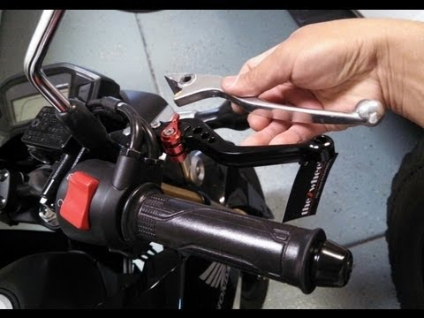 How to Change Brake Clutch Levers for Honda Grom