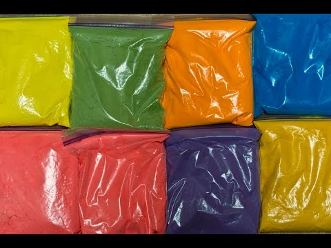 Make Your Own Colored Holi Powder
