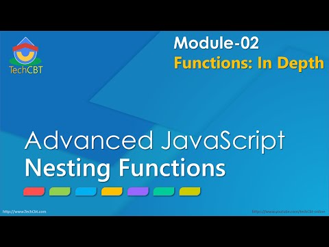 Advanced JavaScript - Module 02 - Part 05 - Nesting functions in JavaScript