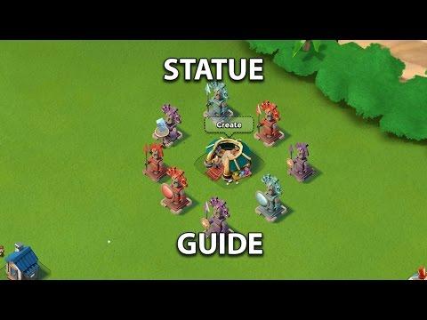 Boom Beach Statue Guide