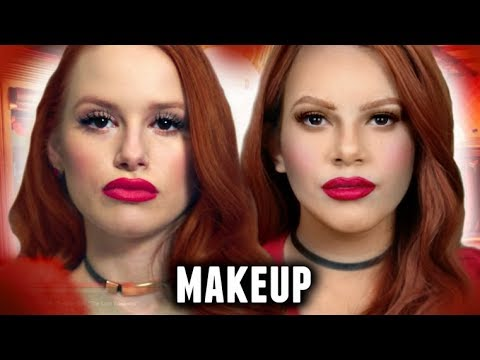CHERYL BLOSSOM MAKEUP TUTORIAL! | Riverdale/Archie Halloween Costume Idea 2017🎃