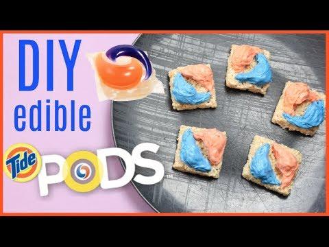 DIY Edible NONTOXIC Tide Pods- Part 2 (with bursting pockets!)