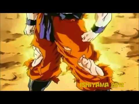 Goku Goes SSJ Against Cooler