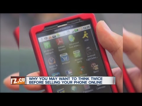 Why you may want to think twice before selling your phone online