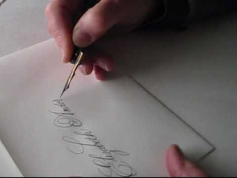Wedding Calligraphy on Envelopes, Sally Sanders