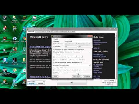 MINECRAFT 1.7.4 (LAUNCHER)