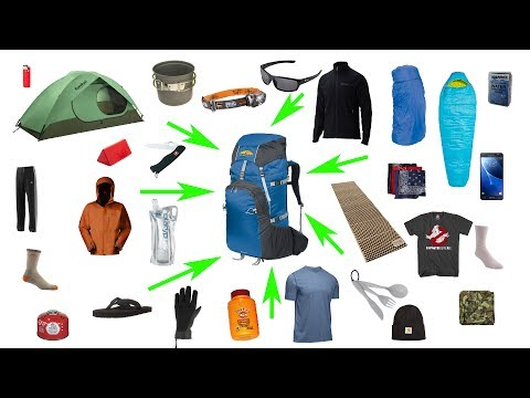 How to Pack a Backpack