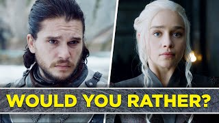"""Can You Survive This Game Of Thrones """"Would You Rather""""?"""
