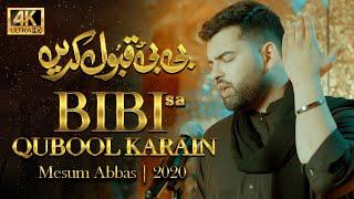 BIBI QUBOOL KARAIN | Mesum Abbas Nohay 2020 | New Noha 2020