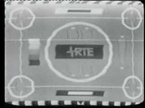 Irish TV RTE Testcard 1970