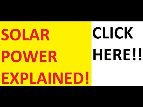[HINDI] SOLAR ENERGY EXPLAINED!!!!!
