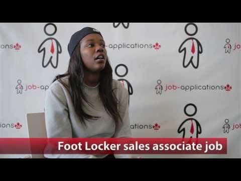 Foot Locker Sales Associate Job