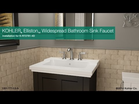 Installation - Elliston Widespread Bathroom Sink Faucet