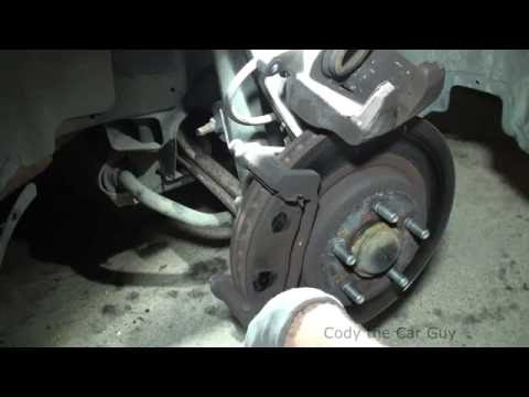 Dodge Magnum brake pads replacement simple and easy