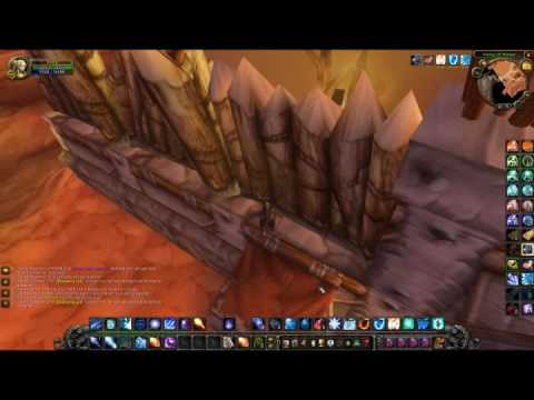 WoW - How to get under Org (patch 3.1.1)