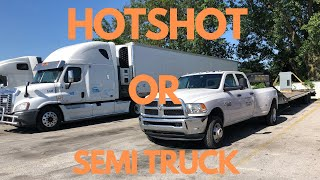 HOTSHOT TRUCKING BUSINESS: FLATBEDS VS CAR HAULERS: WHICH