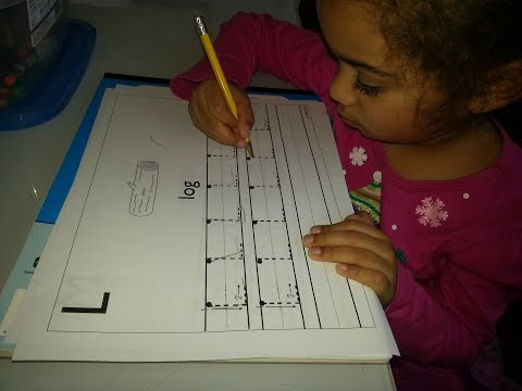 How to teach a toddler handwriting easily