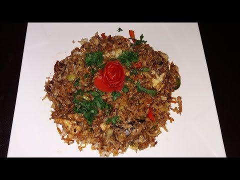 Jamaican Tin Mackerel Fried Rice