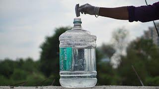 Big Water bottle vs Sodium metal