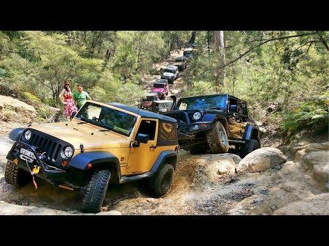Jeeps Rock Crawling @ Mill Creek Crossing