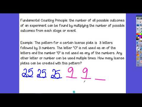 13.1 Fundamental Counting Principle